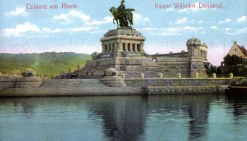 Koblenz am Rhein, Kaiser Wilhelm Denkmal