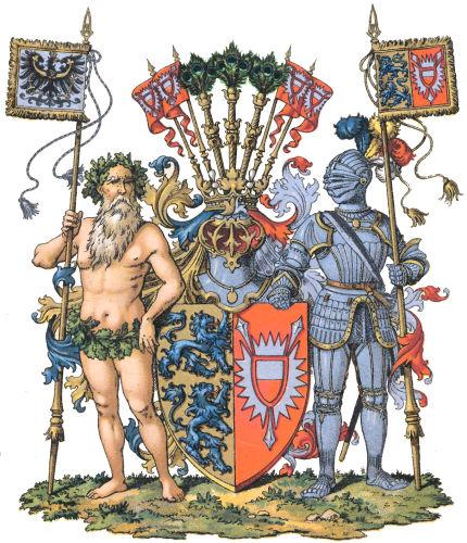 Provinz Schleswig-Holstein, Großes Wappen