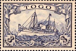 Togo Nr. 18, 3 Mark