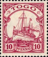 Togo Nr. 9, 10 Pfennig