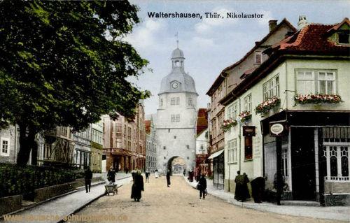 Waltershausen, Nikolaustor