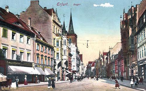Erfurt, Anger