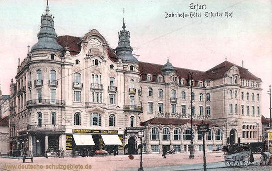 Erfurt, Bahnhofs-Hotel Erfurter Hof
