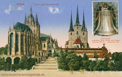 Erfurt, Dom und Severikirche, große Glocke Gloriosa