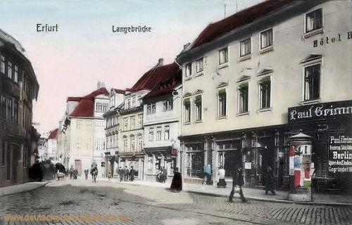 Erfurt, Langebrücke