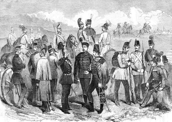 Uniformen der österreichischen Armee im Krieg von 1859