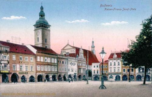 Budweis, Kaiser-Franz-Josef-Platz