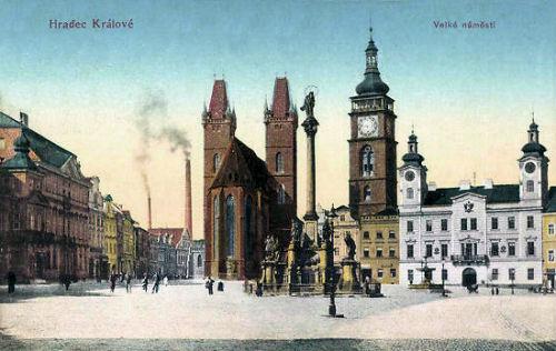 Königgrätz, Großer Marktplatz