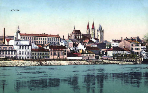 Kolin in Böhmen, Ansicht