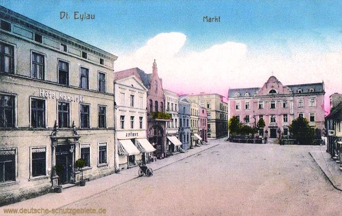 Deutsch-Eylau, Markt