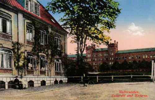 Hadersleben, Lazarett und Kaserne