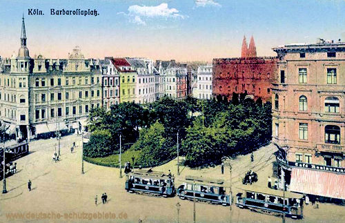 Köln. Barbarossaplatz