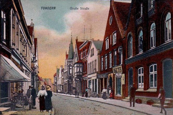 Tondern, Große Straße