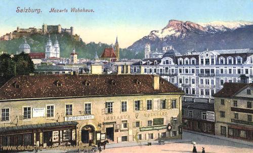 Salzburg, Mozarts Wohnhaus