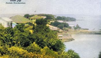 Deutsche West-Karolinen. Insel Jap.