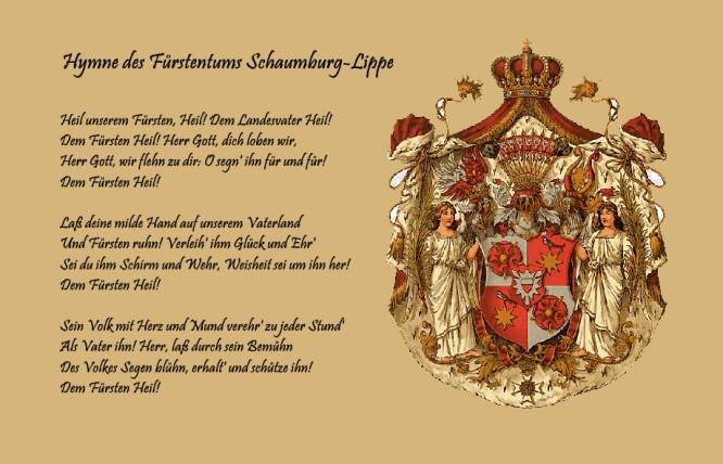 Hymne des Fürstentums Schaumburg-Lippe