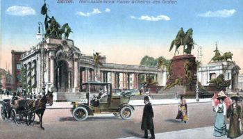 Berlin. Nationaldenkmal Kaiser Wilhelms des Großen