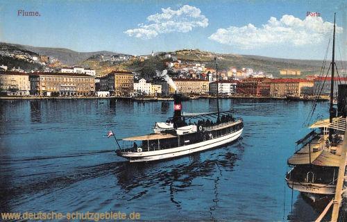 Fiume, Porto