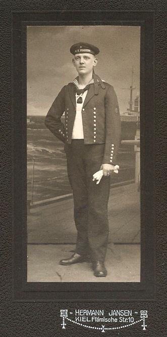 S.M.S. Pommern Besatzungsmitglied