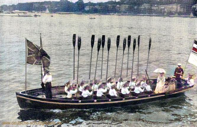 S.M.S. Hohenzollern. Das Standartenboot.
