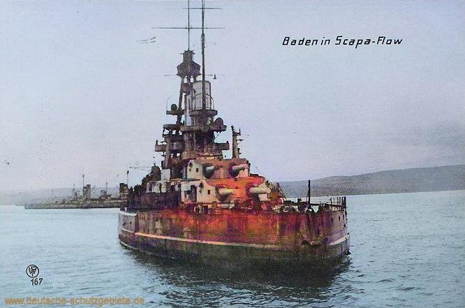 Baden in Scapa-Flow.