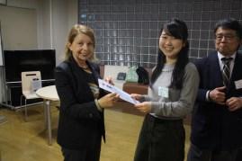 Sayaka Hirota, Gewinnerin des IIK-Stipendiums