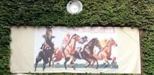 Horses! Old Hoppegarten Sign