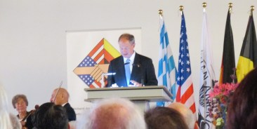 Ambassador Anderson gave a great speech, and was unabashedly American in giving it