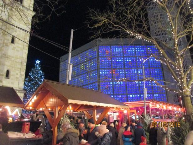 Markt by the Kaiser Wilhelm Gedaechniskirche