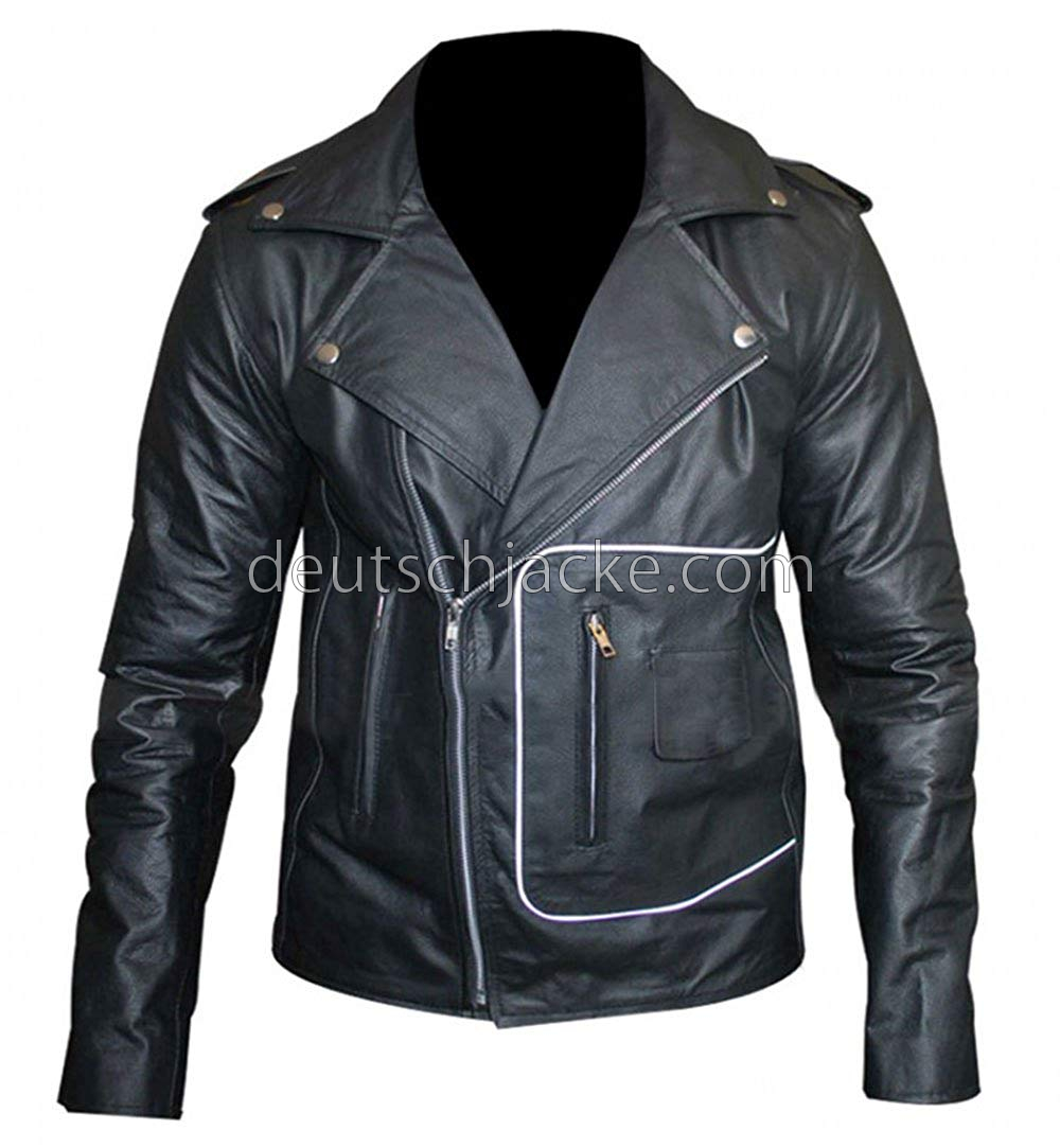 john travolta grease fancy dress t birds black motorcycle. Black Bedroom Furniture Sets. Home Design Ideas