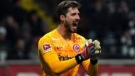 Blieb gegen Augsburg ohne Gegentor: Frankfurts Torhüter Kevin Trapp