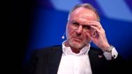 """Karl-Heinz-Rummenigge: """"Wir dürfen nicht überdrehen. Mir wird der Fußball zu politisch, zu finanziell."""""""