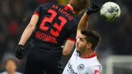 Mittendrin statt nur dabei: André Silva blüht bei der Eintracht auf.