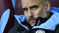 """""""Sie sind zu weit weg. Liverpool ist nicht zu stoppen"""": Manchesters Trainer Pep Guardiola"""