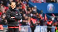 Ärgerlich: Thomas Tuchel muss ohne Testlauf ins Spiel gegen den BVB.