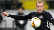 Wie geht es weiter? Sebastian Rode und Eintracht Frankfurt leben mit der Ungewissheit.