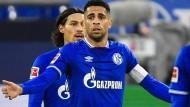 In der Kritik: Schalke 04, hier Omar Mascarell (Mitte)