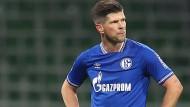 Klaas-Jan Huntelaar spielte bisher nur wenige Minuten für Schalke 04.
