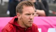 Hat komplizierte Wochen vor sich: Bayern-Trainer Julian Nagelsmann