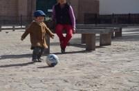 Petit footballeur Cuzco