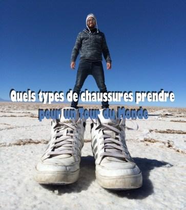 Chaussures pour un tour du monde