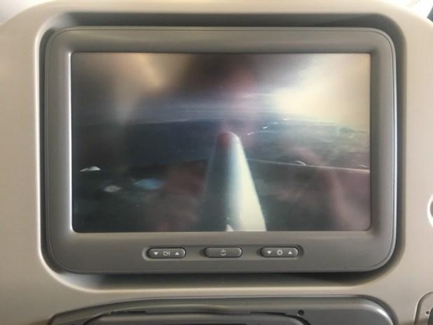Un vol avec l'A380 écran