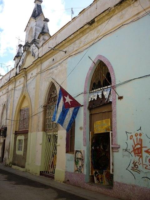 Drapeau cubain La Havane
