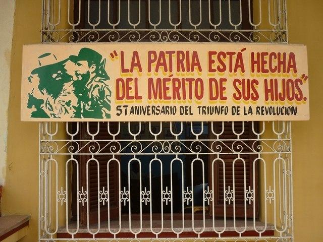 Propagande à Cuba