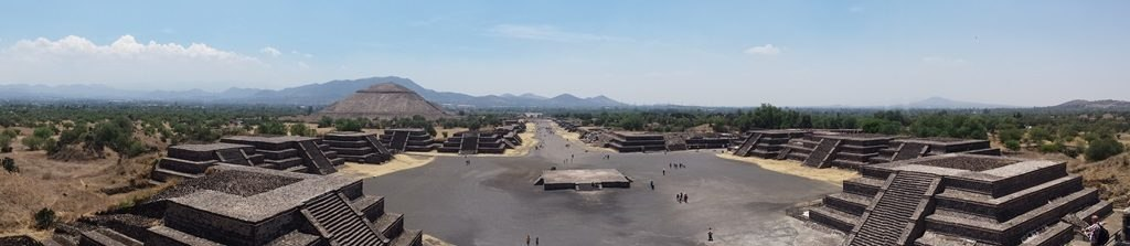 Vue globale du site - Teotihuacan