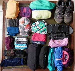 Habits de Pierre pour 4 mois de voyage