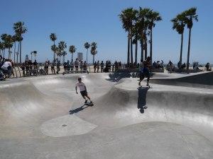 Santa Monica - Venice Beach Skate Park