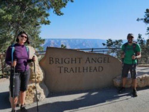 Départ Bright Angel trail