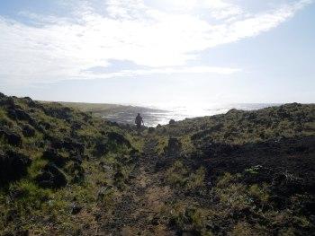 Randonnée Green sand beach
