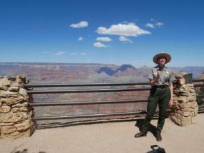 Ranger talk sur la géologie au Grand Canyon